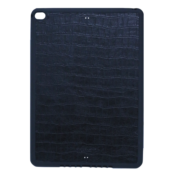 Black Croc iPad Case