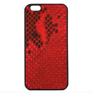 Red Python Snakeskin iPhone 6/6S Plus Case