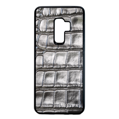 Silver Croc Galaxy S9 Plus Case