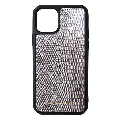 Silver Lizard iPhone 11 Pro Case