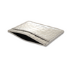 Silver Python Classic Card Holder