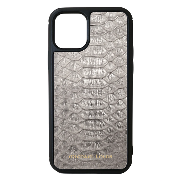 Silver Python iPhone 11 Pro Case