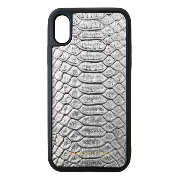 Silver Python iPhone X/XS Case