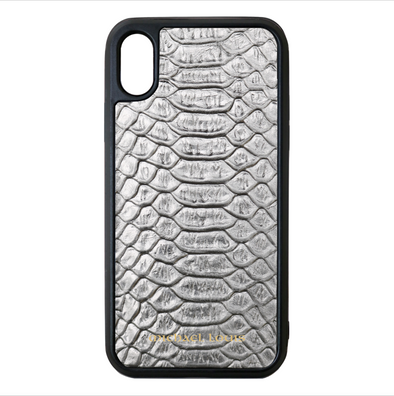 Silver Python iPhone XS Max Case