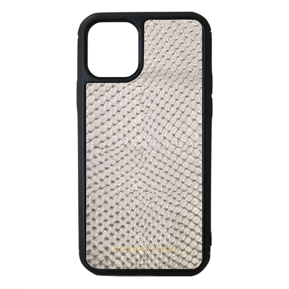 Silver Snake iPhone 11 Pro Case