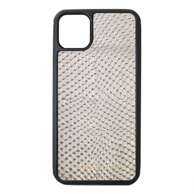 Silver Snake iPhone 11 Pro Max Case