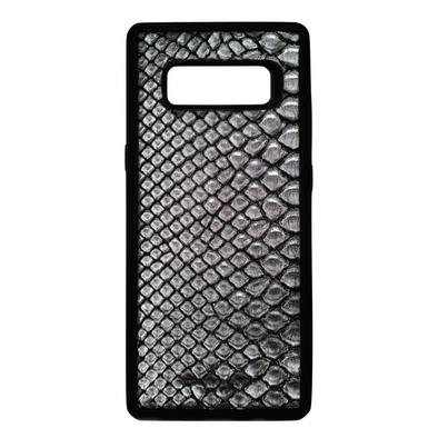 Limited Edition Silver Snakeskin Galaxy Note 8 Case