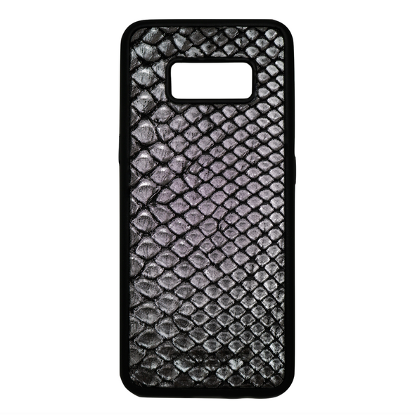Limited Edition Silver Snakeskin Galaxy S8 Case
