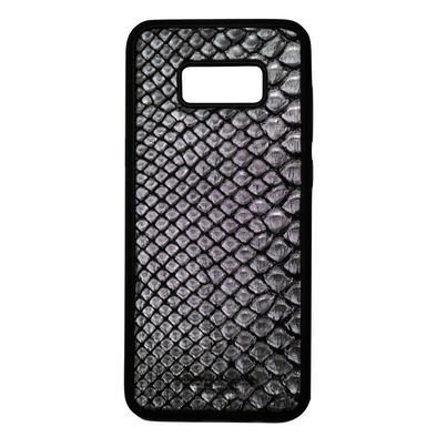 Limited Edition Silver Snakeskin Galaxy S8 Plus Case