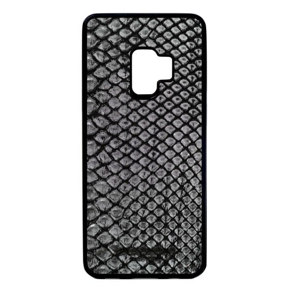 Limited Edition Silver Python Snakeskin Galaxy S9 Case
