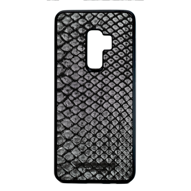 Limited Edition Silver Python Snakeskin Galaxy S9 Plus Case