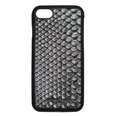 Limited Edition Silver Snakeskin iPhone 7 / 8 Case