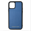 Slate Blue Pebbled Leather iPhone 11 Pro Case