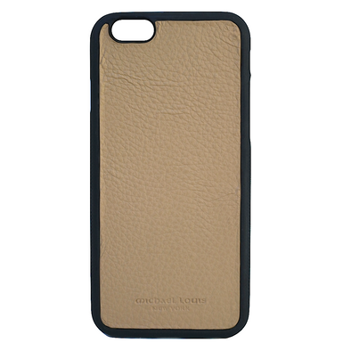 Tan Pebbled Leather iPhone 6/6S Case