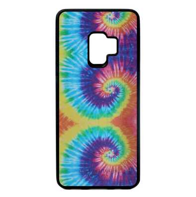 Tie Dye Leather Galaxy S9 Case