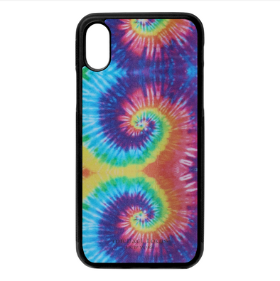 Tie Dye Leather iPhone X/XS Case