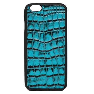 Turquoise Croc iPhone 6/6S Case