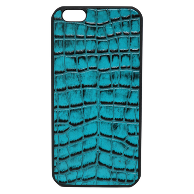 Turquoise Croc iPhone 6/6S Plus Case