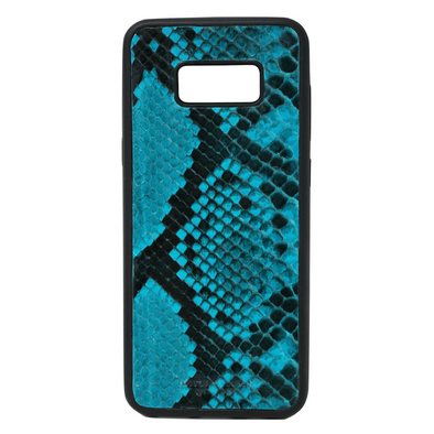 Turquoise Snakeskin Galaxy S8 Plus Case