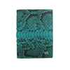 Turquoise Python Passport Holder