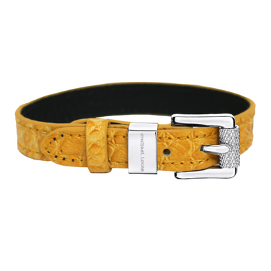 Soho Bracelet - Yellow Croc