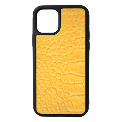 Yellow Croc iPhone 11 Pro Case
