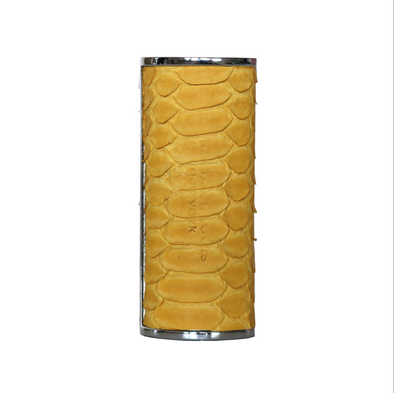 Genuine Yellow Python Lighter Case