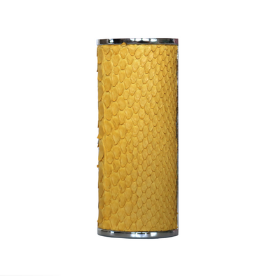 Yellow Python Lighter Case