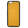 Yellow Snakeskin iPhone 6/6S Case