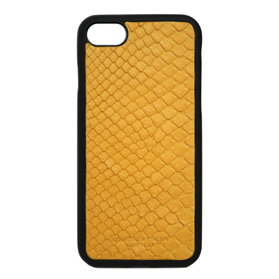 Yellow Snakeskin iPhone 7 / 8 Case