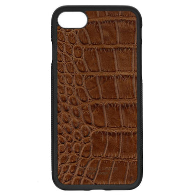 Brown Croc iPhone 7 / 8 Case