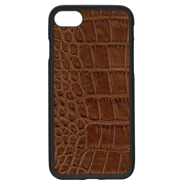 Brown Croc iPhone 7 / 8 / SE 2 Case