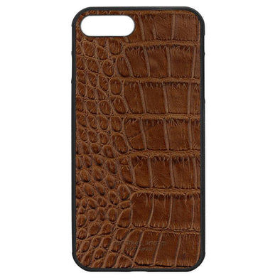 Brown Croc iPhone 7 Plus / 8 Plus Case