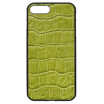 "Green Croc ""2"" iPhone 7 Plus / 8 Plus Case"
