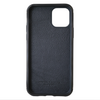 Black Pebbled Leather iPhone 12 Pro Max Case