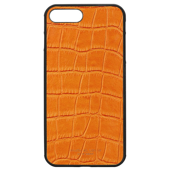 Orange Croc iPhone 7 Plus / 8 Plus Case