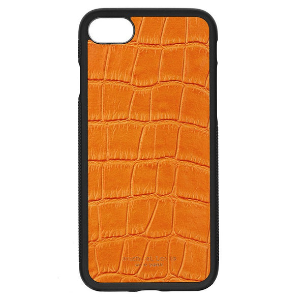 Orange Croc iPhone 7 / 8 Case