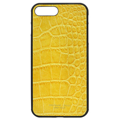 Yellow Croc iPhone 7 Plus / 8 Plus Case