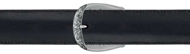 "1-1/2"" Engraved Charles Solo Buckle"