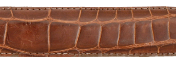 Peanut Alligator Belt