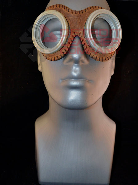 Brown Aviator Goggles