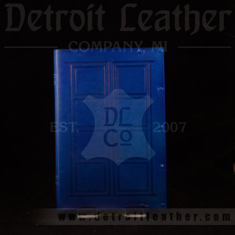 Tardis / River Song Style Leather Bound Book