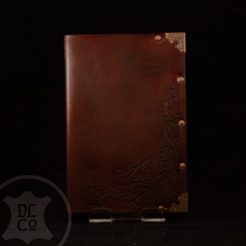 Rosevine Leather Covered Book