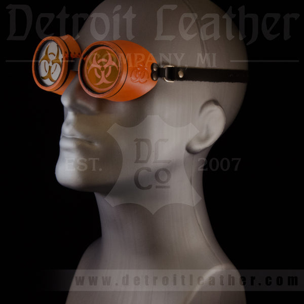 Cyberhazard Orange Goggles