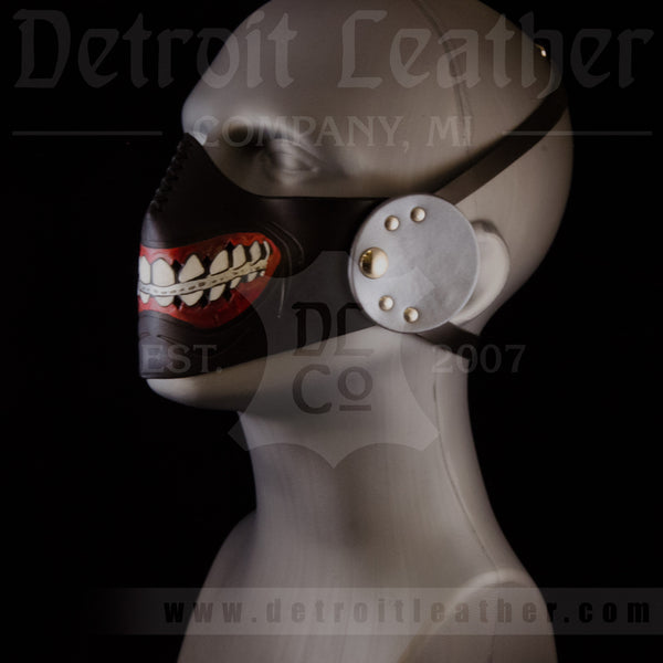 """Zipper"" lower face mask"