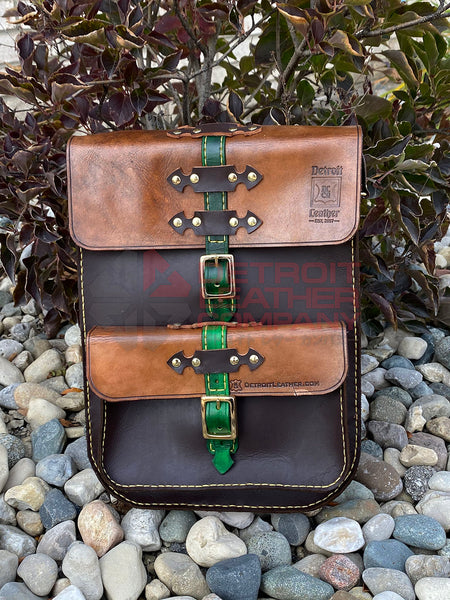 Medium Leather Satchel