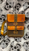 Ready Ship Squared Medium Leather Satchel