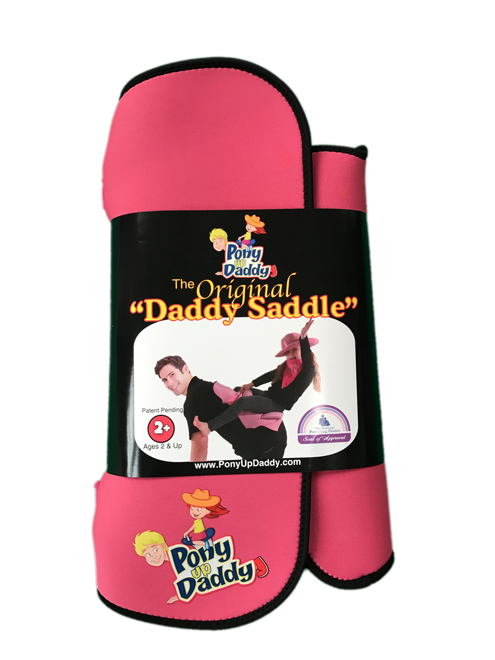 Princess Pink - Pony Up Daddy Saddle-Pony Up Daddy