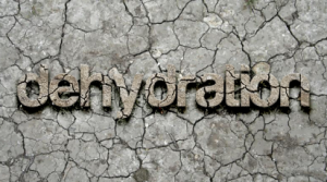 dehydration causes circles under eyes