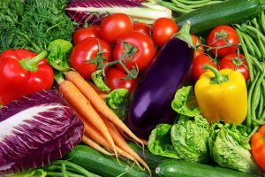 Fresh Vegetables cure dark circles